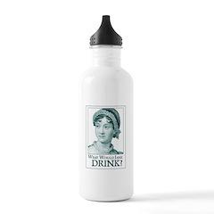 Jane Austen DRINK Water Bottle