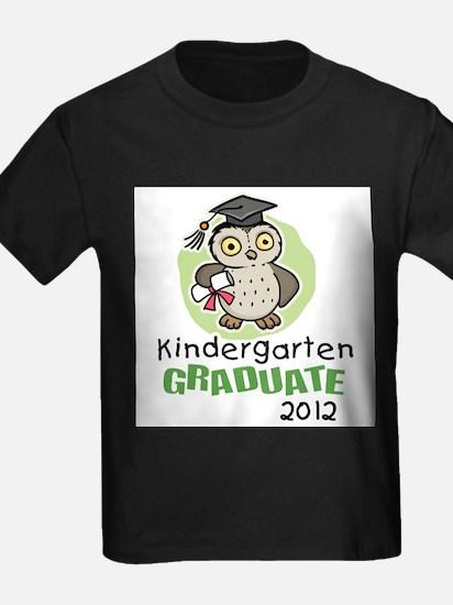 Kindergarten Graduate 2012 - Owl T-Shirt