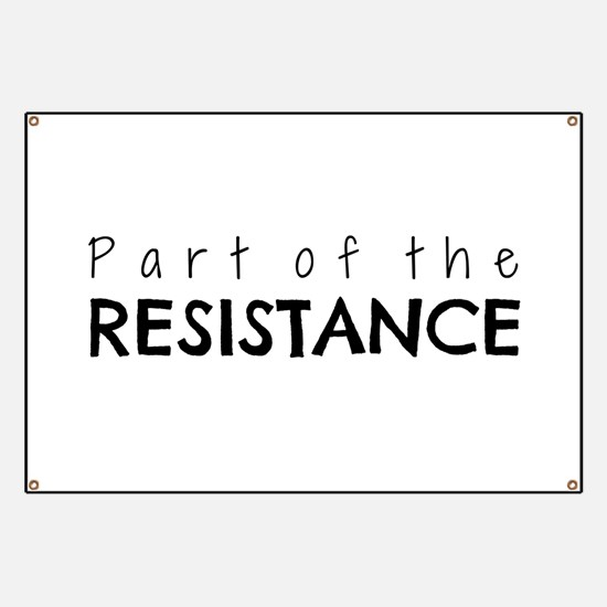 Part of the Resistance Banner