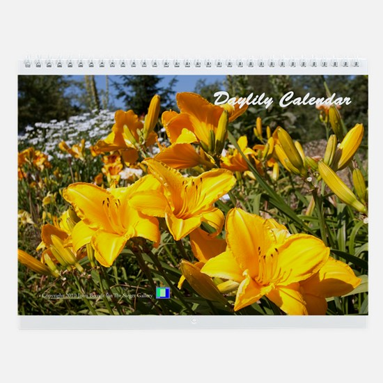 Daylily Wall Calendar