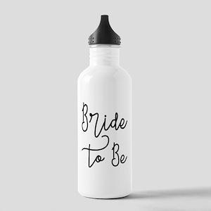 Script Bride to Be Water Bottle