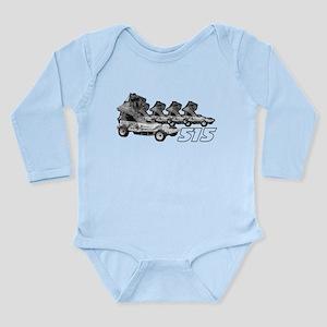 515 Junior Wainman Long Sleeve Infant Bodysuit