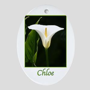 Chloe Ornament (Oval)