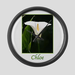 Chloe Large Wall Clock