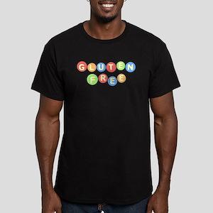 Gluten Free Men's Fitted T-Shirt (dark)