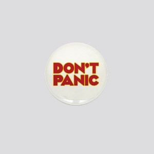 Don't Panic Mini Button