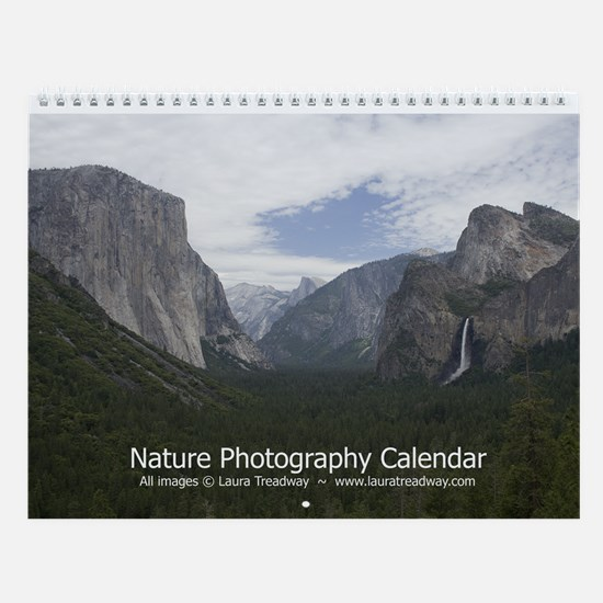 Nature Photography Wall Calendar (v. 6)