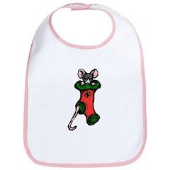 Stocking Rat Bib