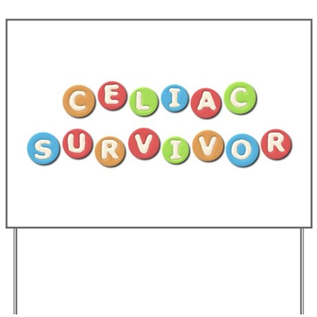 Celiac Survivor Yard Sign