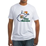 ILY West Virginia Fitted T-Shirt