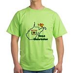 ILY West Virginia Green T-Shirt