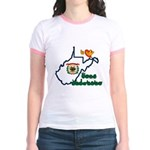 ILY West Virginia Jr. Ringer T-Shirt
