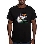 ILY West Virginia Men's Fitted T-Shirt (dark)