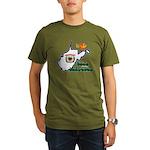 ILY West Virginia Organic Men's T-Shirt (dark)