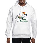ILY West Virginia Hooded Sweatshirt