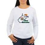 ILY West Virginia Women's Long Sleeve T-Shirt