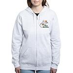 ILY West Virginia Women's Zip Hoodie