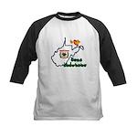 ILY West Virginia Kids Baseball Jersey