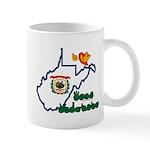 ILY West Virginia Mug