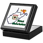 ILY West Virginia Keepsake Box