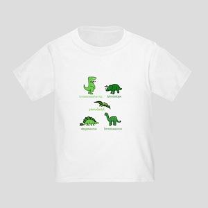 Dinosaurs Galore Toddler T-Shirt