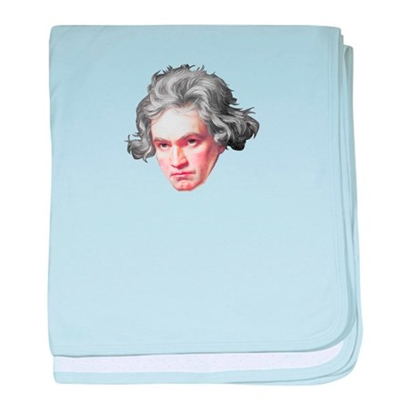 Ludwig Van Beethoven baby blanket