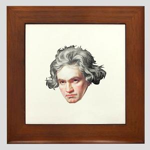 Ludwig Van Beethoven Framed Tile