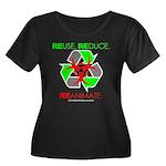 REUSE. REDUCE. REANIMATE. Women's Plus Size Scoop