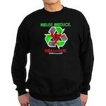 REUSE. REDUCE. REANIMATE. Sweatshirt (dark)