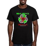 REUSE. REDUCE. REANIMATE. Men's Fitted T-Shirt (da