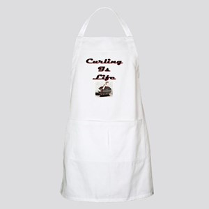 Curling is Life BBQ Apron