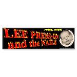 Baby Press-on Bumper Sticker