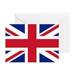 British Flag Greeting Cards (Pk of 10)
