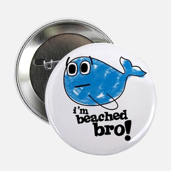 "Beached Bro 2.25"" Button"