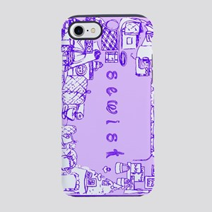 Sewist fabric font sewing border violet purple lil
