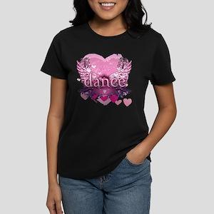 Eat Pray Dance by Danceshirts.com Women's Dark T-S