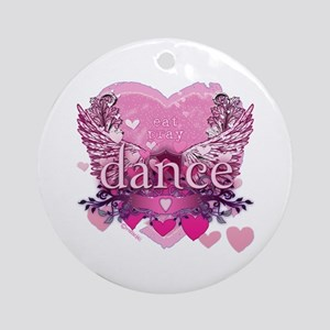 Eat Pray Dance by Danceshirts.com Ornament (Round)