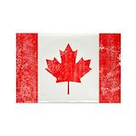 Canadian Flag Rectangle Magnet (100 pack)