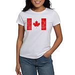 Canadian Flag Women's T-Shirt