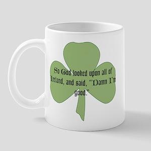 God saw Ireland Mug