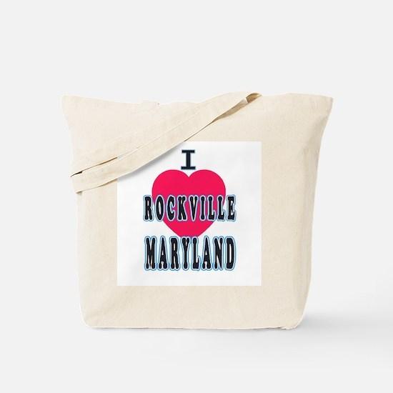 I Love Rockville Tote Bag