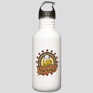 Golf Drinking Team Stainless Water Bottle 1.0L
