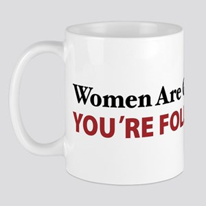 Women Are Leaders Mug
