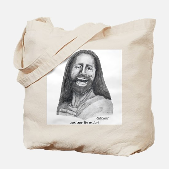 """Just Say """"Yes To Joy"""" Tote Bag"""