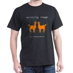 """Spitting Image"" Black T-Shirt"