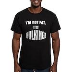 Im Bulking... Men's Fitted T-Shirt (dark)