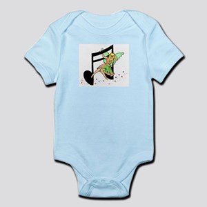 Eighth Notes Infant Bodysuit
