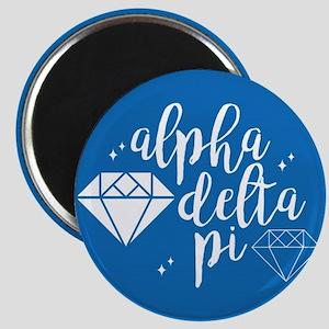 Alpha Delta Pi Diamond Magnet