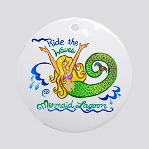 Mermaid Lagoon Ornament (Round)