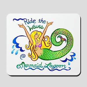 Mermaid Lagoon Mousepad